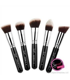 NEW SYNTHETIC KABUKI KIT 5 BRUSHES SIGMA BEAUTY