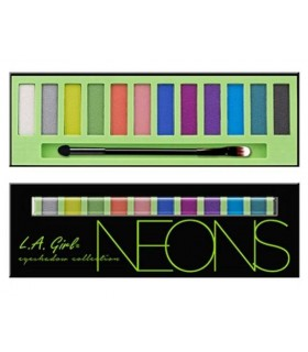 Beauty Brick Eyeshadow Collection NEONS L A GIRL