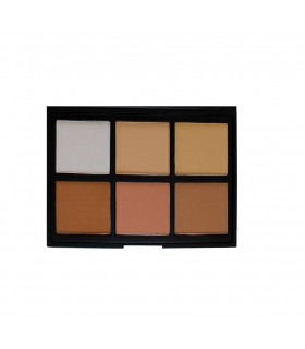 06PC - COOL PRO DEFINITION PALETTE 27g/0.95oz  - Morphe Brushes MORPHE -  18.2