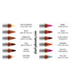 FEATHERED - COLOUR COSMETIC PENCIL OBSESSIVE COMPULSIVE COSMETICS