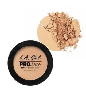 NUDE BEIGE - Pro.Face Powder HD Matte - Poudre Compacte Matte par L.A Girl