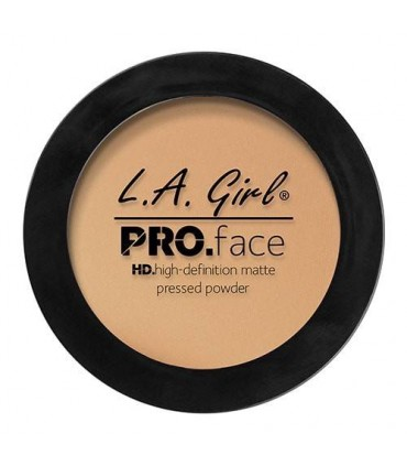 SOFT HONEY - Pro.Face Powder HD Matte Compact Powder Matte by L. A Girl LA GIRL -  8.75