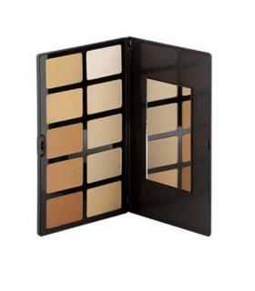 FACE POWDER PALETTE - Palette Poudre Compacte 10 Teintes par Sacha Cosmetics