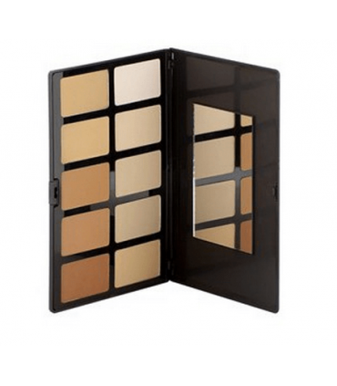 FACE POWDER PALETTE - Palette, Powder Compact 10 Shades by Sacha Cosmetics SACHA COSMETICS -  49.944