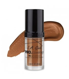 GLM653 TOAST - L.A GIRL HD PRO COVERAGE ILLUMINATING FOUNDATION ( 28ML )