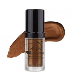 GLM655 RICH COCOA L. A GIRL HD PRO COVERAGE ILLUMINATING FOUNDATION ( 28ml ) LA GIRL -  10.4988