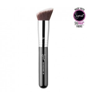 F88 - FLAT ANGLED KABUKI BRUSH CHROME SIGMA BEAUTY