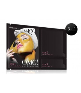 OMG 3 EN 1 KIT PEEL OFF MASK ( MASQUE PEEL OFF )