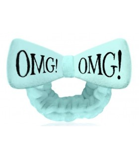 OMG HAIR BAND-SKY BLUE - BANDEAU CHEVEUX BLEU CIEL DOUBLE DARE OMG -  9.6