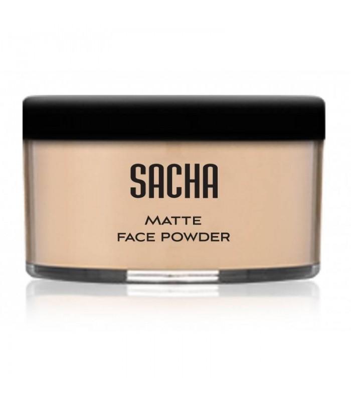 LOOSE POWDER PERFECT MATTE CAMEO par Sacha Cosmetics