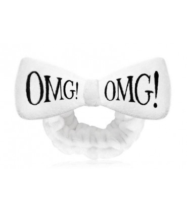 OMG HAIR BAND-WHITE - BANDEAU CHEVEUX BLANC