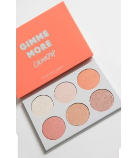 Gimme More! Colourpop - Palette 6 Teintes