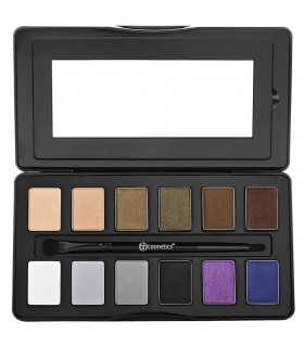 Nude Rose Night Fall - 12 Color Eyeshadow Palette BH COSMETICS