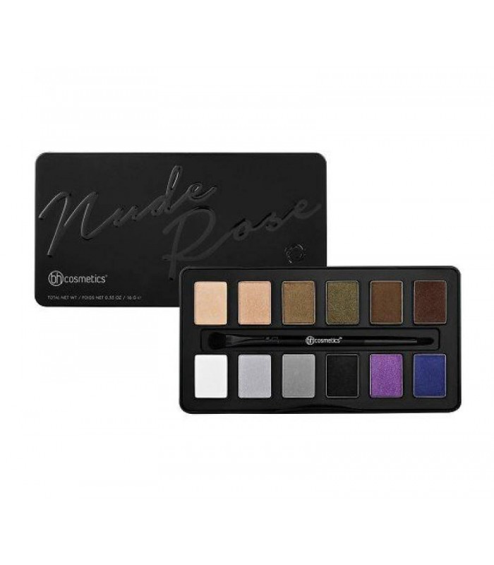 Nude Pink Night Fall - 12 Color Eyeshadow Palette BH COSMETICS BH COSMETICS -  16.488