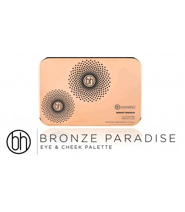 Bronze Paradise - Eyeshadow, Bronzer & Highlighter Palette BH COSMETICS