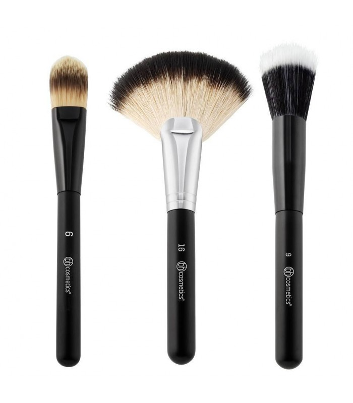 Blending Face Trio KIT 3 Brushes Face BH COSMETICS