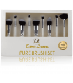 PURE BRUSH SET KIT BRUSHES Face and Eyes by Elemia Lecabel