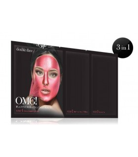 OMG! PLATINUM HOT PINK FACIAL MASK KIT DOUBLE DARE OMG -  7.92