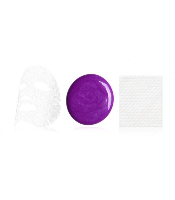 OMG! PLATINUM PURPLE FACIAL MASK KIT DOUBLE DARE OMG -  9.9