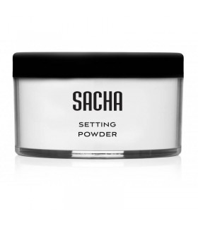 COLORLESS  SETTING POWDER - POUDRE VISAGE NEUTRE de la marque  SACHA COSMETICS COLORLESS  SETTING POWDER - POUDRE VISAGE NEUTRE