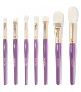 JUVIA'S 7pcs Purple Set - KIT 7 Pinceaux Violet JUVIA'S PLACE JUVIAS PLACE -  43.9