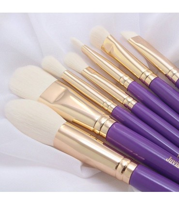 JUVIA'S 7pcs Purple Set - KIT 7 Pinceaux Violet JUVIA'S PLACE