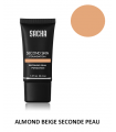 ALMOND BEIGE LIQUID SECOND SKIN 40ml - Fond de teint liquide Seconde Peau par Sacha Cosmetics sur ckarlysbeauty.com