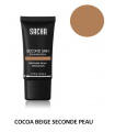 COCOA BEIGE LIQUID SECOND SKIN 40ml - Fond de teint liquide Seconde Peau par Sacha Cosmetics