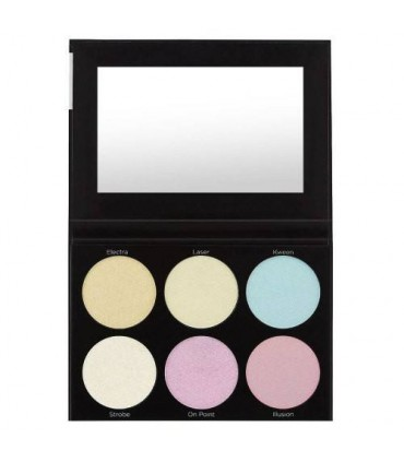BLACKLIGHT Highlight - 6 Color Palette - BH COSMETICS