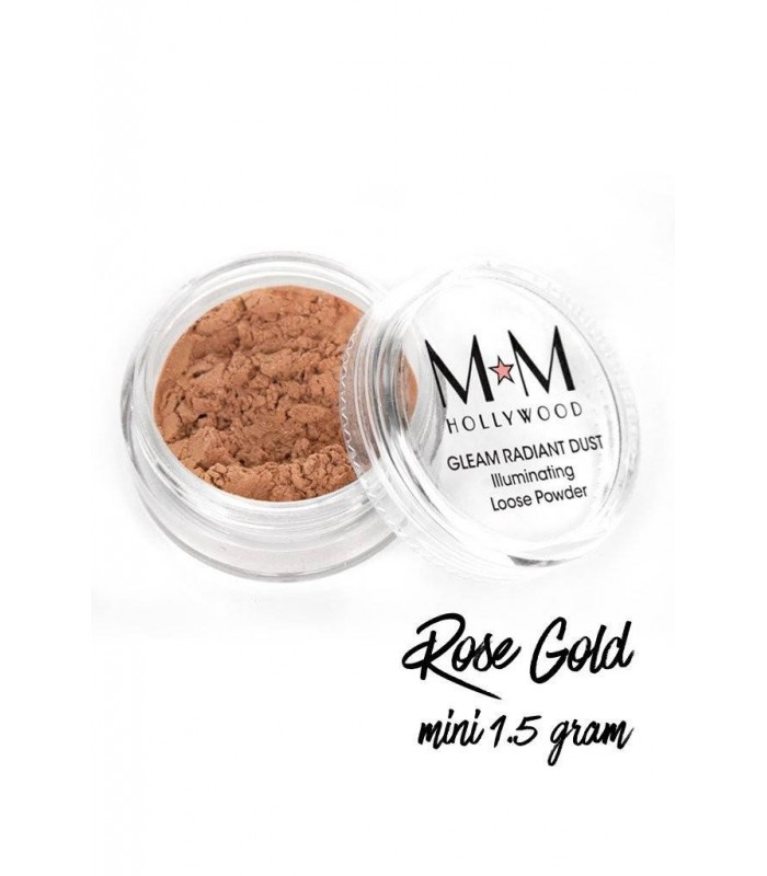 HOLLYWOOD Film Festival GLOW Collection - KIT 4 x Mini Gleam Radiant Dust 1.5g - Melanie Mills Hollywood