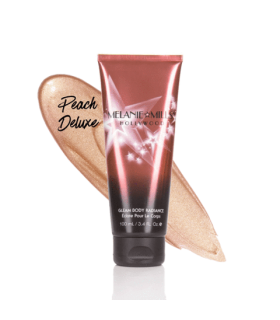 GLEAM Body Radiance PEACH DELUXE 3.4 oz - 6g - 90ml - Melanie Mills Hollywood