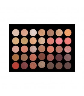35 COLOUR ROSE GOLD EyeShadow Palette CROWNBRUSH
