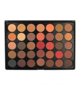 35 COLOUR SCANDALOUS EyeShadow Palette CROWNBRUSH