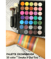 35 COLOUR SMOKE IT OUT TOO Palette CROWNBRUSH CROWNBRUSH -  29
