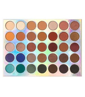 35 COLOUR METAL MADNESS EyeShadow Palette - Palette fards à paupières CROWNBRUSH CROWNBRUSH -  32.9