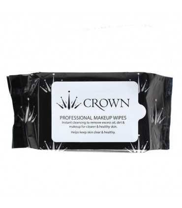 LINGETTES DEMAQUILLANTES PACK 30 - MAKEUP WIPES PACK 30 CROWNBRUSH