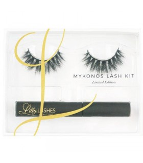 MYKONOS FAUX CILS & KIT COLLE - LILLY LASHES LILLY LASHES -  44.9