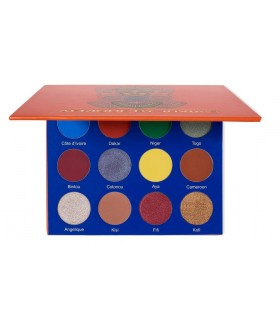 Afrique Eyeshadow Palette - By JUVIAS PLACE