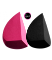 PACK DUO 3DHD BLENDER BLACK + PINK SPONGE SIGMA BEAUTY