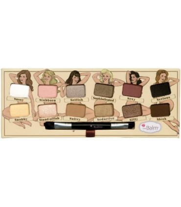 NUDE TUDE Nude Eyeshadow Naughty Palette THE BALM
