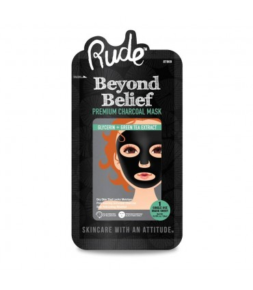 BEYOND BELIEF CHARCOAL FACE MASK - MASQUE AU CHARBON - RUDE COSMETICS RUDE COSMETICS -  4.9