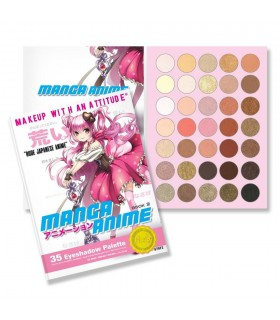 MANGA ANIME - 35 EYESHADOW PALETTE - RUDE COSMETICS