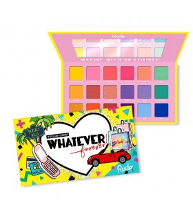 WHATEVER FOREVER - 18 EYESHADOW PALETTE- RUDE COSMETICS
