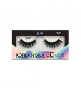 KOREAN SILK 3D LASHES - Audacious - RUDE COSMETICS RUDE COSMETICS -  11.9
