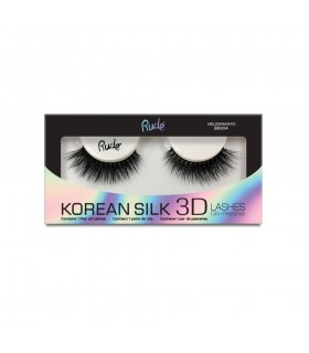 KOREAN SILK 3D LASHES - Melodramatic - RUDE COSMETICS RUDE COSMETICS -  11.9