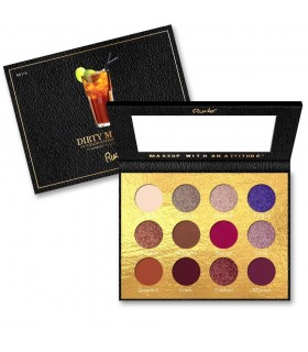 COCKTAIL PARTY 12 EYESHADOW PALETTE - Dirty Mother - RUDE COSMETICS RUDE COSMETICS -  18.9