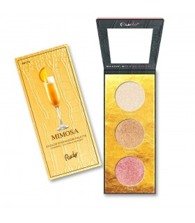 COCKTAIL PARTY LUMINOUS HIGHLIGHT PALETTE Mimosa - RUDE COSMETICS
