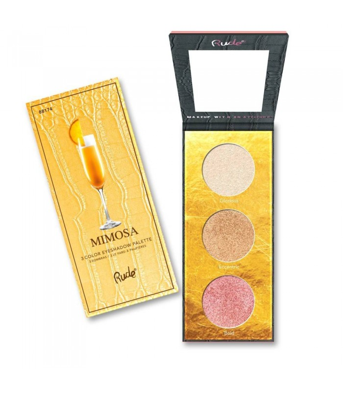 COCKTAIL PARTY LUMINOUS HIGHLIGHT PALETTE Mimosa - RUDE COSMETICS RUDE COSMETICS -  12.9