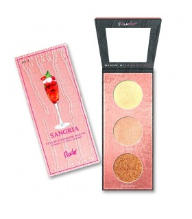 COCKTAIL PARTY LUMINOUS HIGHLIGHT PALETTE Sangria- RUDE COSMETICS RUDE COSMETICS -  12.9