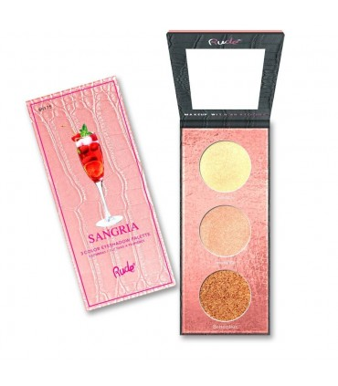 COCKTAIL PARTY LUMINOUS HIGHLIGHT PALETTE Sangria- RUDE COSMETICS
